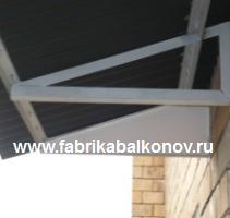 ФАБРИКА БАЛКОНОВ: Крыша на балконы и лоджии, устройство