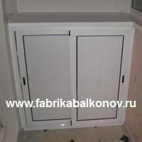 ФАБРИКА БАЛКОНОВ: Шкафы на балконы и лоджии, изготовление, установка