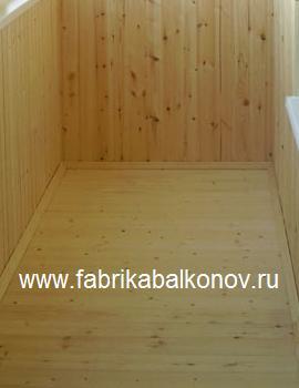 Устройство пола из деревянной половой доски на балконах и лоджиях