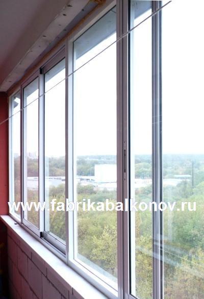 Холодное остекление балконов и лоджий раздвижными и поворотными алюминиевыми окнами PROVEDAL Проведал фотографии